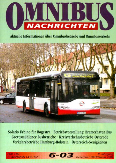 Omnibus-Nachrichten Nr.:6-03