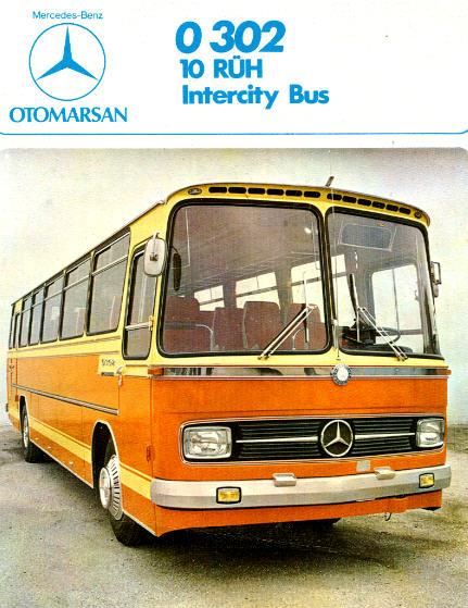 prospekte mercedes benz mb o 302 10 r h intercity b omnibus modell shop rhein ruhr. Black Bedroom Furniture Sets. Home Design Ideas