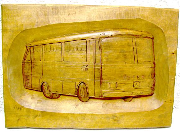 Holzbild Setra S 80