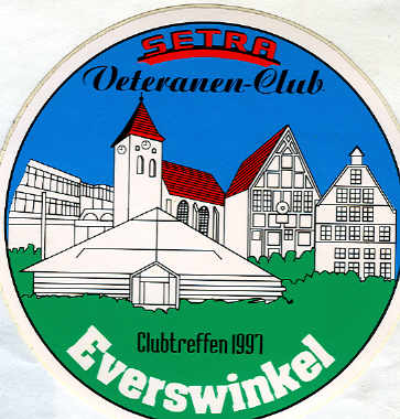 Auto-Aufkleber Setra-Club-Treffen 1997
