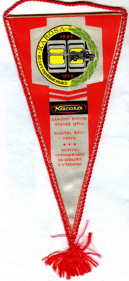 Fahne Karosa 1895-1975