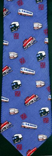 Krawatte-Omnibus WVG/RLG - Omnibusse,Eisenb.LKW
