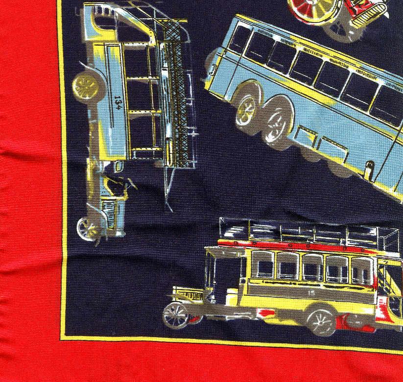 Halstuch-Omnibus Mercedes Benz