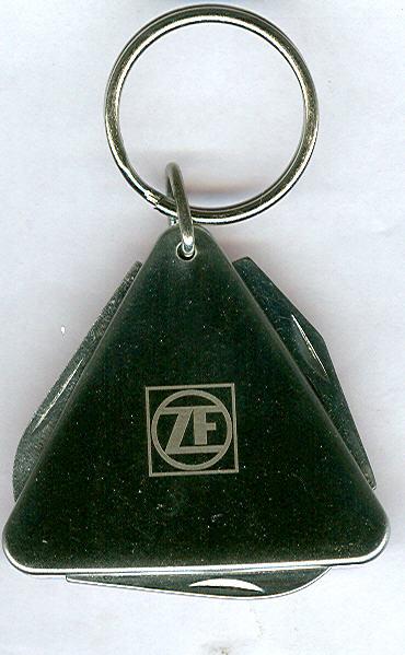Schlüssel-Anhänger ZF mit Messer -