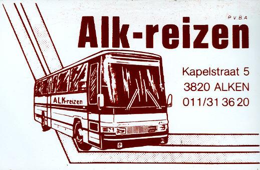 Aufkleber Alk-Reizen NL