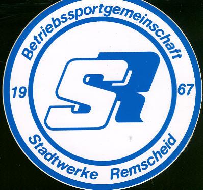 Aufkleber BSG Stadtwerke Remscheid 1967