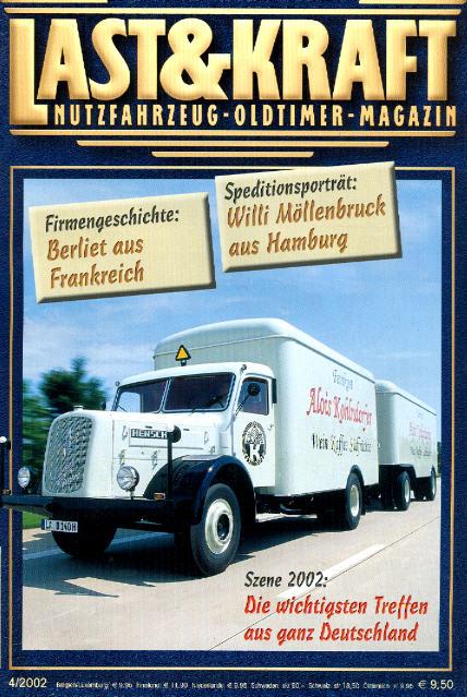 Last & Kraft Oldtimer-Magazin 4/2002