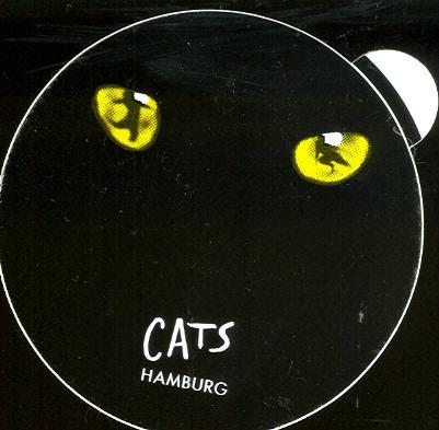 Aufkleber Cats, Hamburg