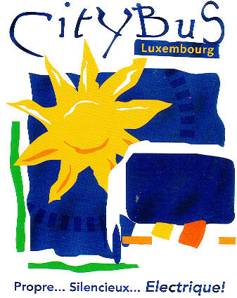 Aufkleber CityBus Luxembourg