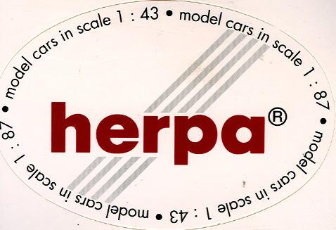 Aufkleber Herpa