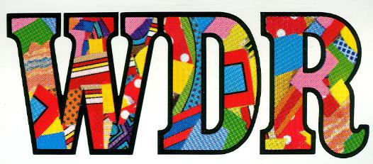 Aufkleber WDR