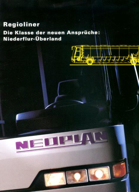 NEOPLAN-Regioliner - Niederflur-Überland