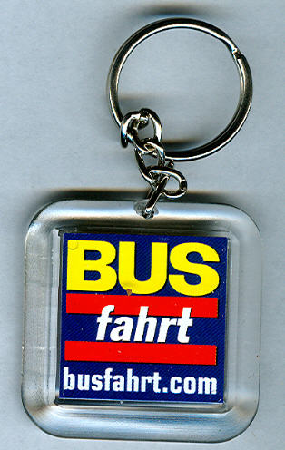 Schlüssel-Anhänger Busfahrt
