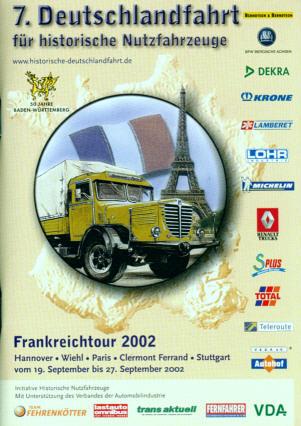 7. Deutschlandfahrt für historische Nutzfahrzeuge