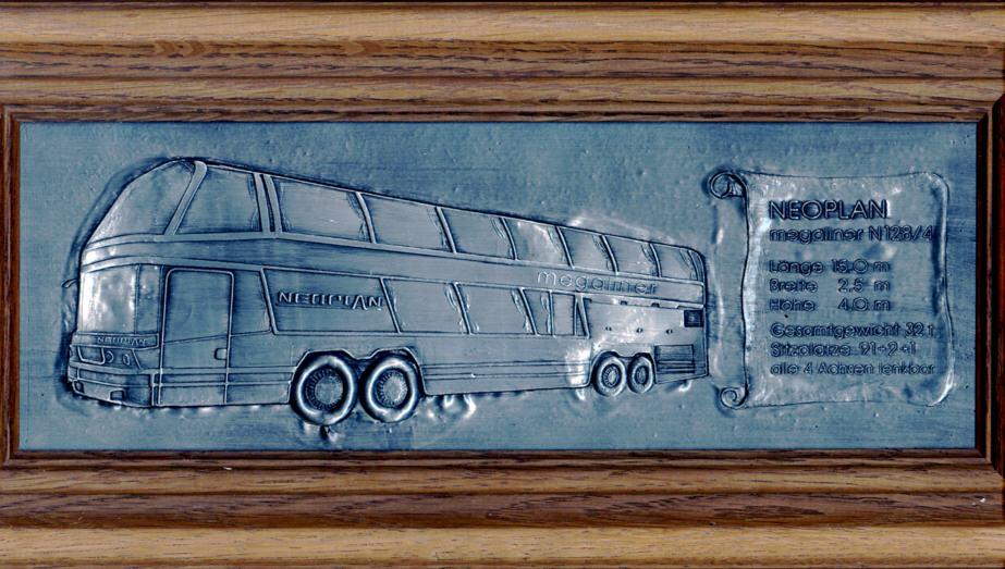 Neoplan-Megaliner Zinnbild