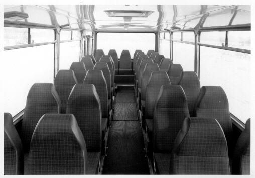 Foto Büssing-Bus - Innen - 1971