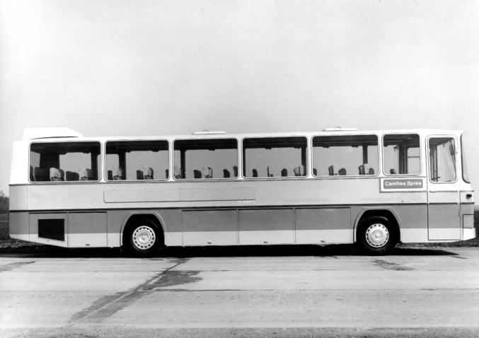 Foto Büssing-Bus - 1971