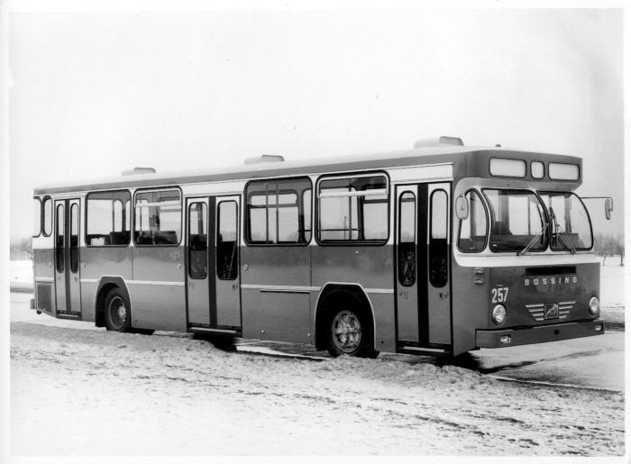 Foto Büssing BS 110V,Zürich - 1971