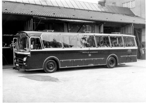 Foto Mercedes Benz MB  O ? Deutsche Bundesbahn