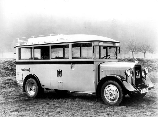 Foto Mercedes Benz MB  LO 2000, Bauj.1933