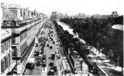 Foto Paris mit Omnibussen