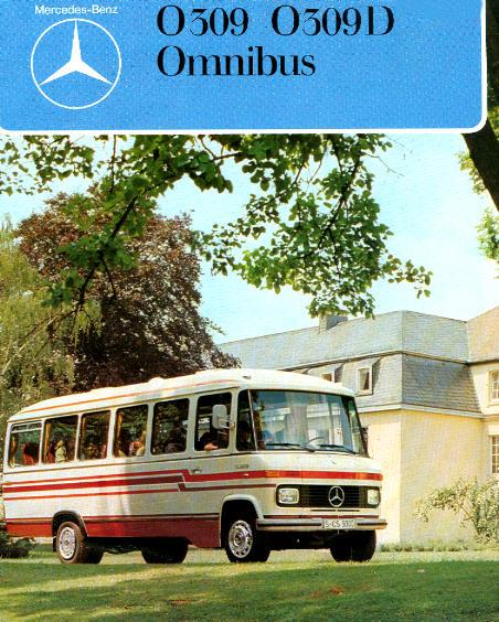 Prospekte Mercedes Benz MB  -  O309/309D