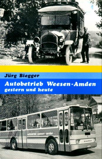 Autobetrieb Weesen-Amden gestern und heute -  CH