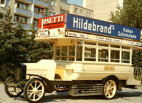 Postkarten Berliner Busse / DD