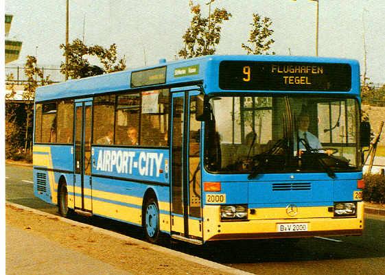 Postkarten Berliner Busse
