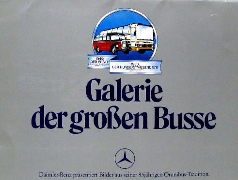 Galerie der großen Busse