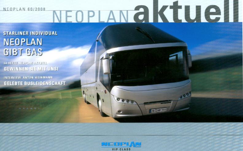 Neoplan - Aktuell 60 2008 Hauszeitschrift