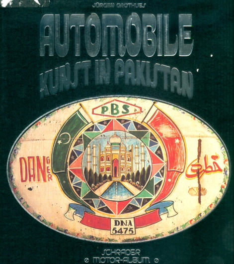 Automobile Kunst in Pakistan
