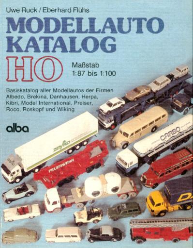Modellauto-Katalog Basiskatalog 1:87 - 1:100