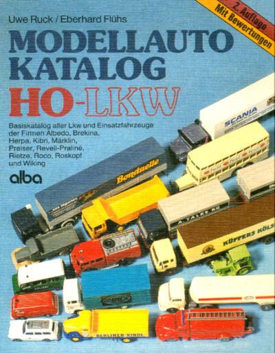 Modellauto-Katalog HO-LKW