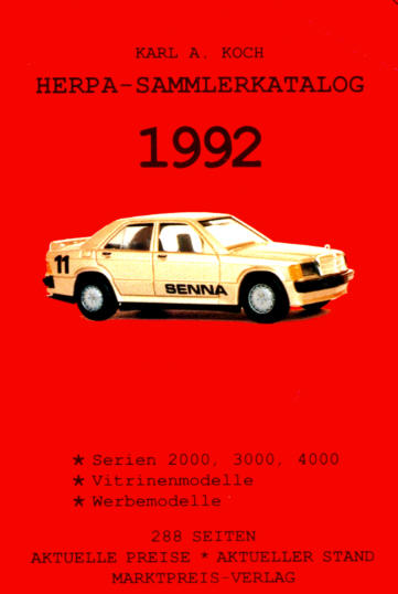 Herpa-Sammlerkatalog 1992