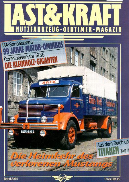 Last & Kraft Oldtimer-Magazin 3/1994