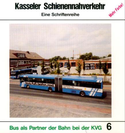 Kasseler Schienennahverkehr 6 Bus als Partner /KVG