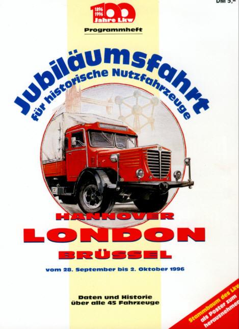 Jubiläumsfahrt f.histor. Nutzfahrzeuge 1996
