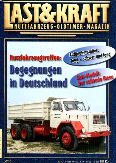 Last & Kraft Oldtimer-Magazin 3/2001