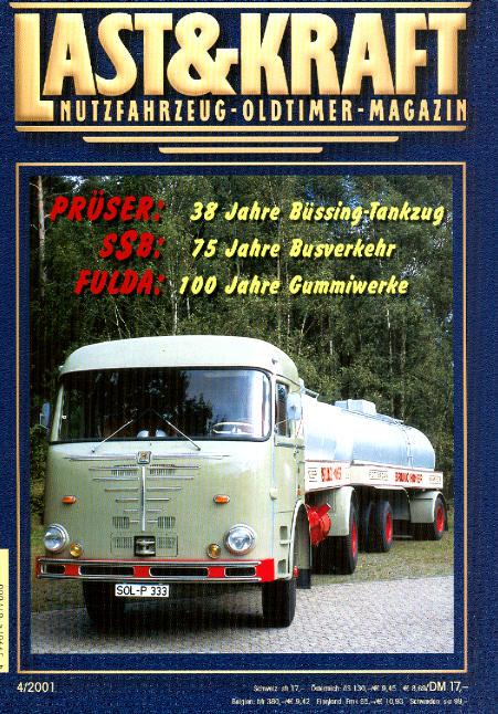 Last & Kraft Oldtimer-Magazin 4/2001