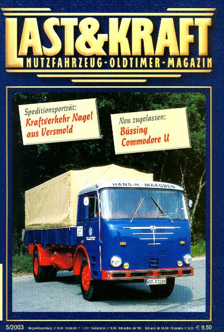 Last & Kraft Oldtimer-Magazin 5/2003