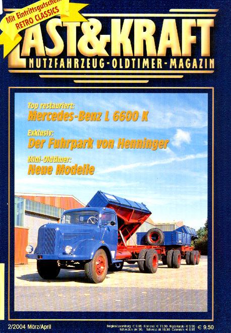 Last & Kraft Oldtimer-Magazin 2/2004