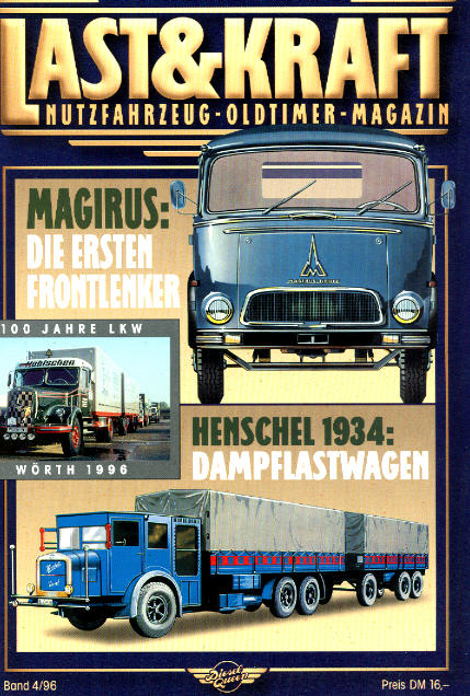 Last & Kraft Oldtimer-Magazin 4/1996