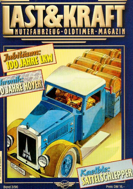 Last & Kraft Oldtimer-Magazin 3/1996