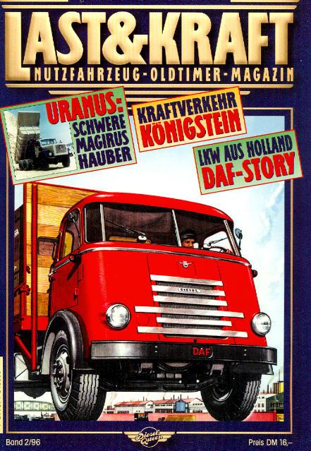 Last & Kraft Oldtimer-Magazin 2/1996