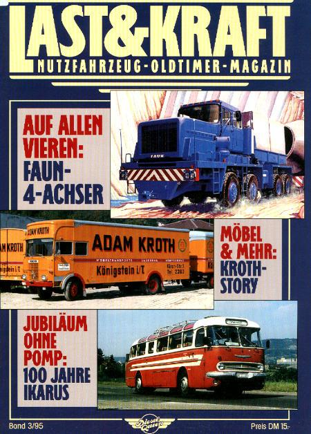 Last & Kraft Oldtimer-Magazin 3/1995