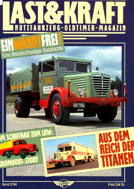 Last & Kraft Oldtimer-Magazin 2/1994