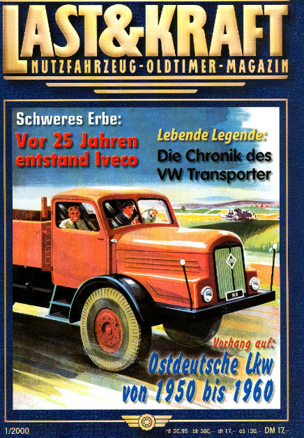 Last & Kraft Oldtimer-Magazin 1/2000