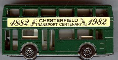 Matchbox London-DD Chesterfield 1882-1992