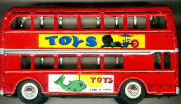 Blech Omnibus DD ca. 20 cm/Toys